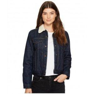 Levi's Original Blue Denim Jacket Women's Size XL